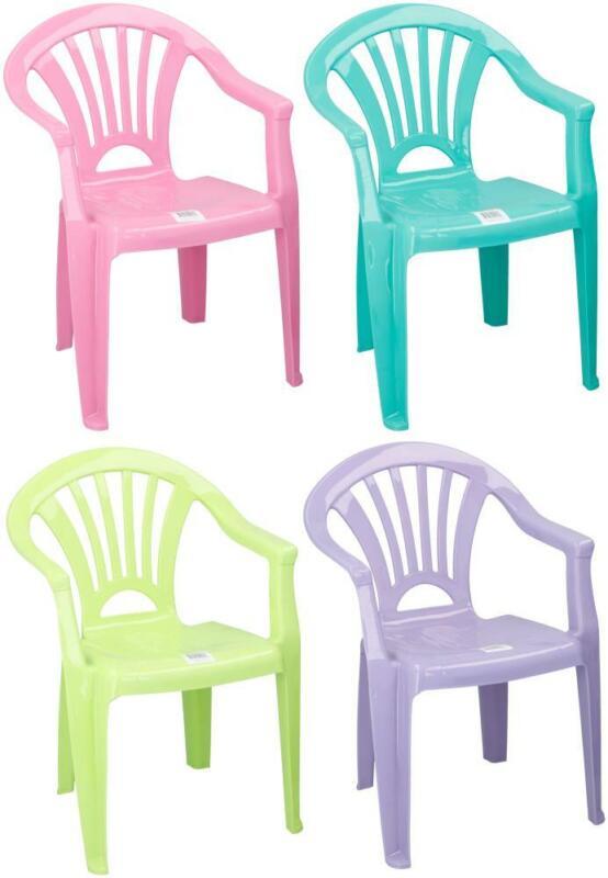Détails sur Dkb Enfants Meuble de Jardin Set Chaise Table Chambre D\'Enfants  Empilable 4