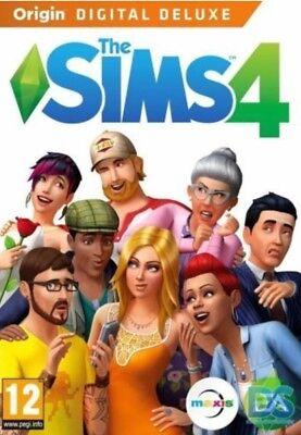 The Sims 4 Digital Deluxe  Pc Mac  Full Game Multilanguage Sale