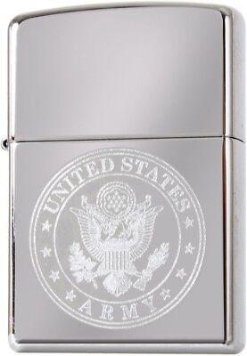 Zippo US Army Seal Logo Lighter