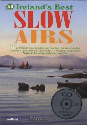 110 Irelands Best Slow Airs Sheet Music Book/CD Pat Conway SAME DAY DISPATCH