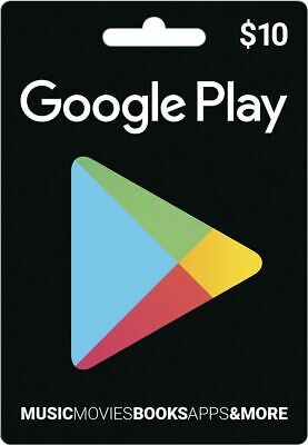 $10 Google Play Store Gift Card - USA ONLY