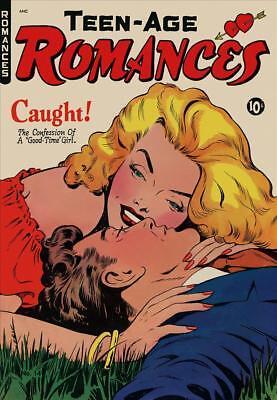 Teen-Age Romances #14 Photocopy Comic Book, Matt Baker Art