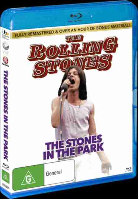 Rolling Stones- The Stones in the Park - plus bonus material - Blu Ray