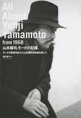 ALL ABOUT YOHJI YAMAMOTO FROM 1968 JAPAN Fashion Design YOJI BOOK With Tracking