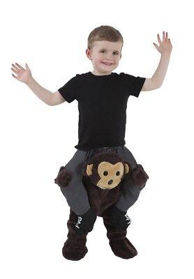 Monkey Toddler Piggyback Child Costume Realistic Look Halloween Morph Suits - Kid Morph Suits
