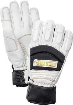 HESTRA Leather VERTICAL CUT Freeride WATERPROOF Snow SKI GLOVE sz 6 MEN Women XS - Leather Snow Glove
