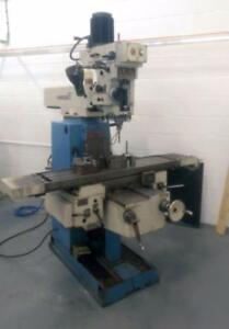 (USED) TURRET MILLING MACHINE / TOS FNK-25A