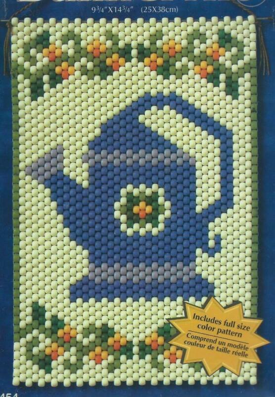 """Great Spring Banner 9.75"""" x 14.75"""" Watering Can Beaded Banner Kit"""