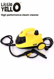 Little Yellow Steam Cleaner + Accessories