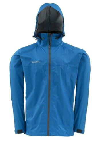 Simms Closeout Hyalite Rain Shell Ocean Blue, Select Sizes