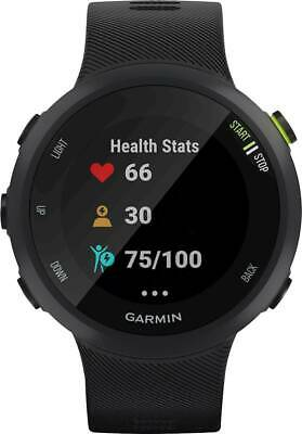 Garmin - Forerunner 45 GPS Heart Rate Monitor Running Smartwatch - Black