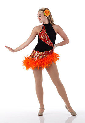 Ballroom Salsa Jazz Tap Dance Dress Costume Tango Halloween GROUPS Child & Adult - Halloween Jazz Dance