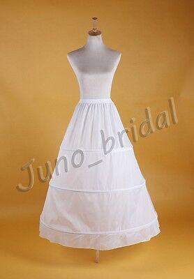 Weiß Hochzeit Braut Unterröcke Petticoat Krinoline Kostüme Reifröcke Slip