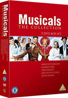 Must See Musicals 5 Film Collection DVD