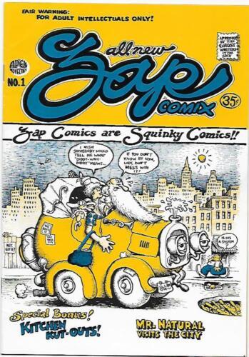 Zap Comix #1, 3rd printing Apex Novelties 1968, R. Crumb,  NM