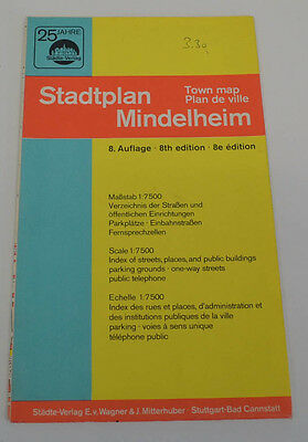 City Map Mindelheim Cities Publisher (AGK1432)