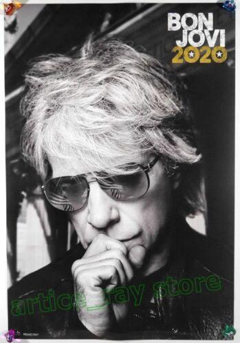 Bon Jovi 2020 Taiwan Promo Poster Limitless Do What You Can 2020
