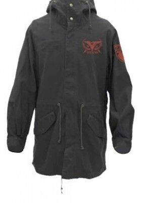 Mobile Suit Zeta Gundam Titans M-51 Hood Jacket Black L Fast Shipping Japan EMS for sale  Shipping to United States