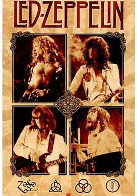 Led Zeppelin - Parchment Poster - 24