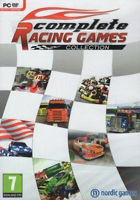 Car Racing 7 GAME COLLECTION: Super Truck Racer, Kart Racer, Drag & Stock Racer, used for sale  Shipping to India
