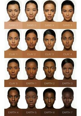IMAN Earth 4 Second To None Stick Foundations Makeup Face Skin NEW Dark/deep