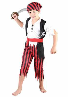 Kinderkostüm Pirat Größe 122-134