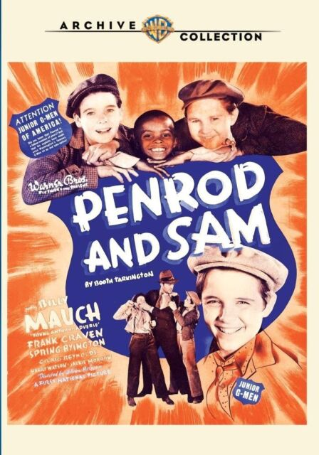 PENROD & SAM - (1937 Billy Maugh) Region Free DVD - Sealed