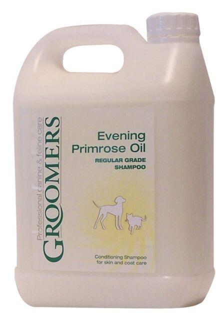 Groomers Evening Primrose Oil DOG Shampoo 2.5 Litre NEW