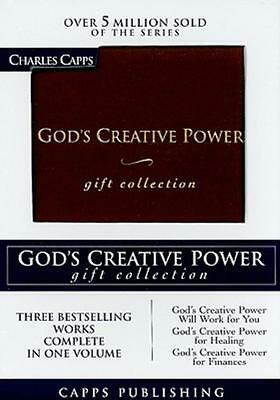 God's Creative Power Gift Collection (Leather / Fine Binding)