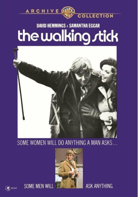 THE WALKING STICK - (1970 David Hemmings) Region Free DVD - Sealed
