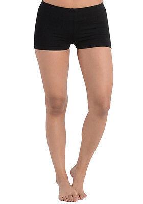 Women's Regular & Plus Size Booty Shorts Cotton Comfortable Stretch Short Bottom - Womens Booty Shorts