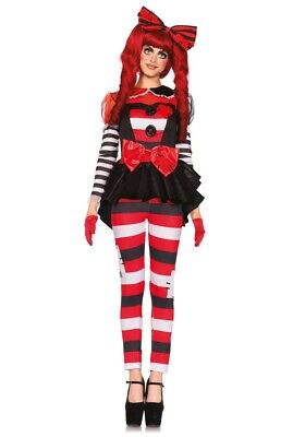 Damen-Kostüm Leg Avenue - Rag Doll - Halloween - Ragdoll Puppen Kostüme