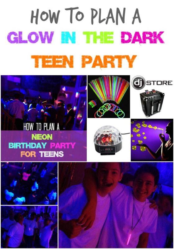 fun teen party ideas