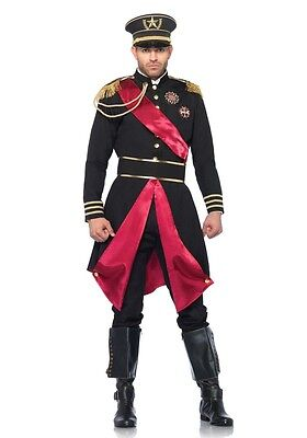 Herren-Kostüm Leg Avenue - Military General inkl. Hut - Uniform Diktator Militär ()