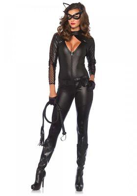 ostüm von Leg Avenue Catsuit Batman Catwoman Katze Overall (Kostüme Catwoman)