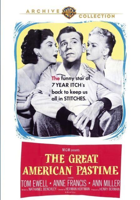 GREAT AMERICAN PASTIME - (1956 Tom Ewell) Region Free DVD - Sealed