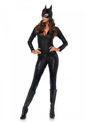 ghter Damen-Kostüm Leg Avenue Woman Catsuit Katze Cat (Catwoman Kostüm-leg Avenue)