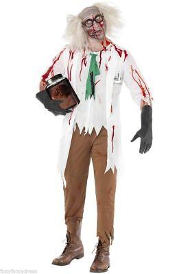 *SALE* Zombie High School Chemist Science Teacher Halloween Fancy Dress Costume (Science Halloween Costumes)