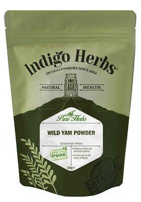 Indigo Herbs Wild Yam Powder 250g Dioscorea villosa