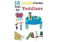 WANTED outdoor/garden toys