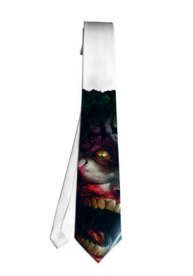 Joker Batman Movie Necktie Neck Tie Anime Manga Child Cosplay Gift - Joker Tie