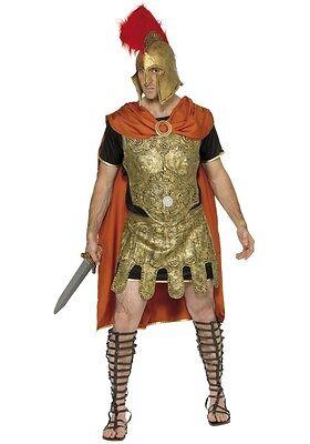 Herren Römische Soldat Krieger Gladiator Historisch Kostüm Kleid Outfit ()