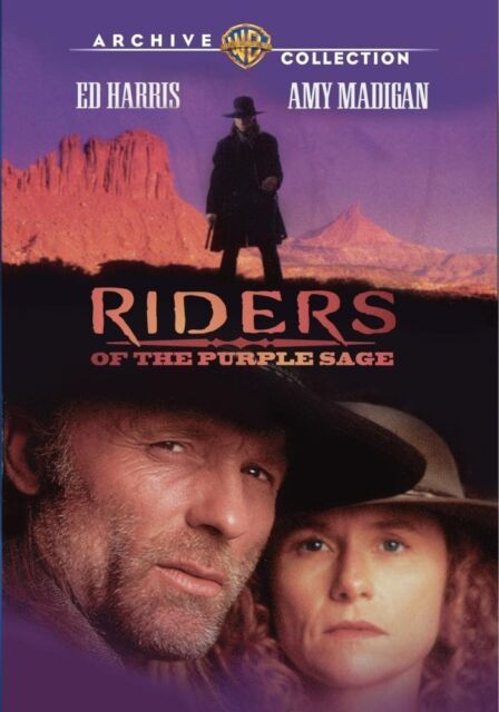RIDERS OF THE PURPLE SAGE (1996 Ed Harris) - DVD - UK Compatible - New & sealed