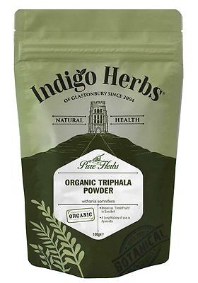 Used, Organic Triphala Powder - 100g - Indigo Herbs for sale  Shipping to South Africa