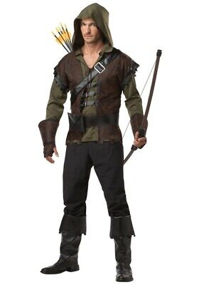 Herren-Kostüm ROBIN HOOD - König der Diebe (1) MIttelalter - Alte Robin Kostüm