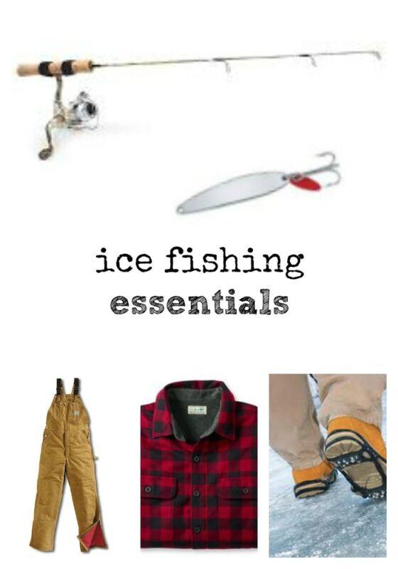 10 ice fishing tips ebay for Ebay ice fishing