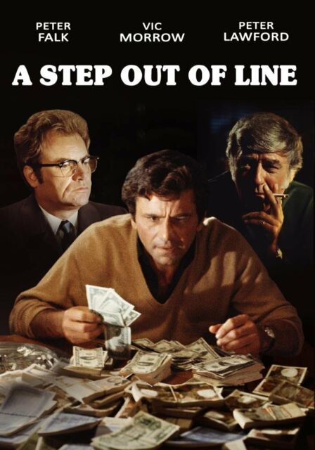 A Step Out of Line (Peter Lawford) - Region Free DVD - Sealed