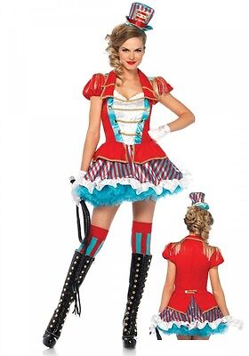 Ravishing Ring Master Damen-Kostüm von Leg Avenue Zirkusdirektorin - Damen Ring Master Kostüm