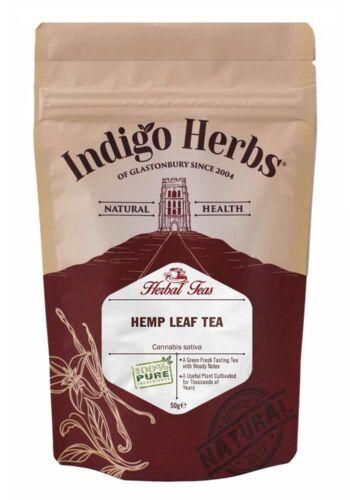 *Hanftee – 50g – (Beste Qualität) Indigo Herbs*