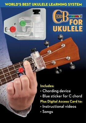 ChordBuddy for Ukulele Complete Learning Package - Includes ChordBuddy 000288448
